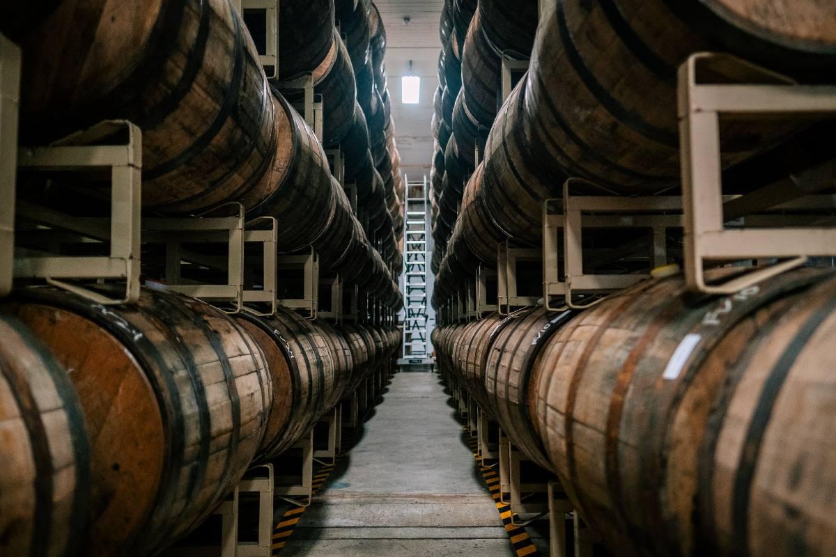 Allagash Curieux barrels